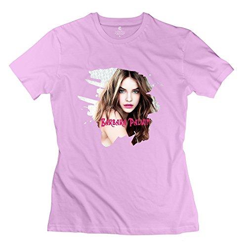 Nana-Custom Tees Damen T-Shirt Gr. M, Schwarz - Pink