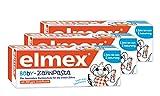 Elmex Baby Zahnpasta vom ersten Zahn bis 2 Jahre Zahnpflege Mund (3 Tuben)