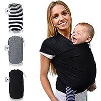Fascia porta bebè Baby » fastique Kids « (520cm X 55cm) elastico–Fascia Porta Bebè–Panni per precoce e neonati con istruzioni per trasporto–altri colori
