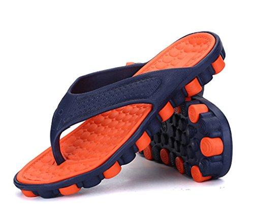 Scothen Sommer Sandale,Unisex Herren Jungen Garden Clogs Shoes Mens Garden Shoes Unisex Adult Sandals Slippers Slip strand Garten Pool Maultier EVA Holzschuhe Schuhe Summer Mountain Shoes Orange
