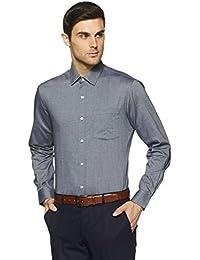 Arrow Men's Plain Slim Fit Formal Shirt