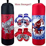 SR Collection Kids Boxing Set /Bag (1 Punching Bag, 1 Pair Of Boxing Gloves, 1 Protective Headgear) Ideal For 3 Year Old, 4 Year Old ,5 Year And 6 Year Old Only.This Summer Holidays Healthy And Fit Kids(Design May Vary)