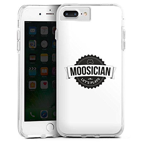 Apple iPhone X Silikon Hülle Case Schutzhülle M00sician Merchandise Fanartikel Let's Play Bumper Case transparent