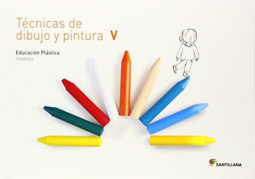 CUADERNO TECNICAS DE DIBUJO Y PINTURA V 5 PRIMARIA - 9788468017754 por Aa.Vv.