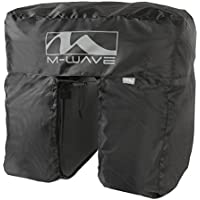 M-Wave Amsterdam Protect - Cubierta impermeable, color negro