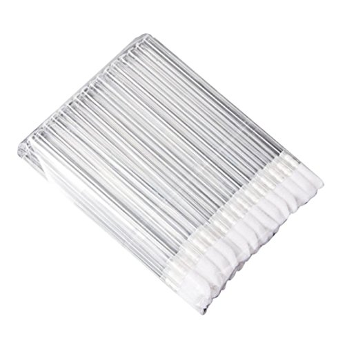 Internet 50pcs Jetable Maquillage Lèvres Pinceau Rouge à Lèvres Gloss Baguettes Applicateur Composent Outil