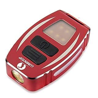 LUMINTOP 350 Lumen Wasserdichte wiederaufladbare USB Geek Taschenlampe-Front Cree XP-L Led & Seite Nichia Light 7 Modi Strobe/SOS / Signal Pocket Edc Mini Professionelle taktische Taschenlampe