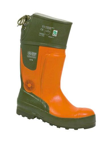 FELDTMANN , Chaussures de sécurité pour homme Orange-Grün