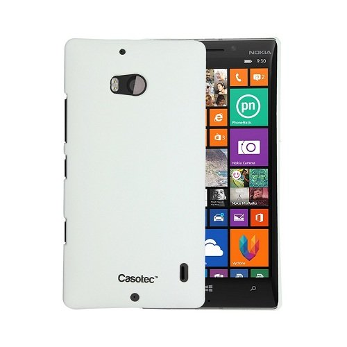 Casotec Ultra Slim Hard Shell Back Case Cover for Nokia Lumia 930 - White  available at amazon for Rs.179