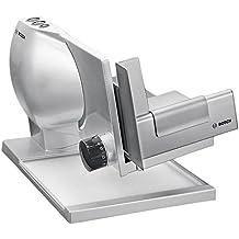 Bosch MAS9555M rebanadora - Cortafiambres (Metal, 220 - 240 V, 50/60 Hz, Metálico, Plata)