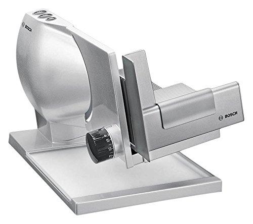 Bosch MAS9555M Allesschneider 2-in-1 MultiCut Messer aus Edelstahl, Spezial-Käsetaste, 150 W, silber  metallic