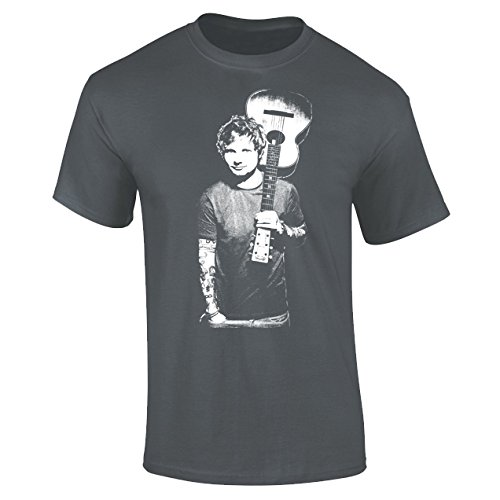 mens-ed-sheeran-iconic-rock-pop-music-t-shirt-charcoal-grey-l