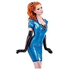 Westward Bound Damen Etui Kleid blau PS Blue Transparent Trim. Medium