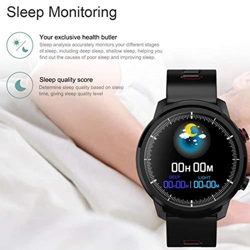 Dyda6 Senbono S10 - Smartwatch per Uomo e Donna, Impermeabile IP68, Bluetooth, con Schermo Touch HD, cardiofrequenzimetro,...