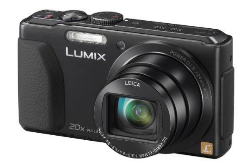 Lumix DMC-TZ40 - 18,2 Mpix zoom optique 20x Leica DC avec NFC Wi-Fi, GPS intégré, grand angle 24 mm, vidéo Full HD 50p - AVCHD) écran 3 pouces LCD