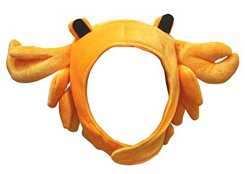 Petitebelle Halloween-Kostüm Tiere Hut Unisex-Kleidung Freie Größe Einheitsgröße Orange Krabbe