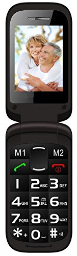 Denver Seniorenhandy Grosstastentelefon Handy Klapphandy Telefon Dual Sim S39 Ohne Vertrag