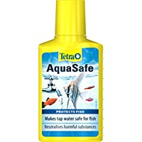 Tetra AquaSafe to Turn Tap Water into Safe and Healthy Water for Fish and Plants, 100 ml
