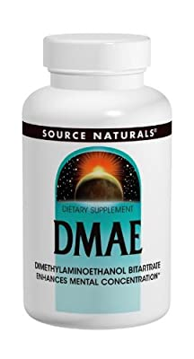 Source Naturals Dmae Capsules, 100 Caps from Source Naturals