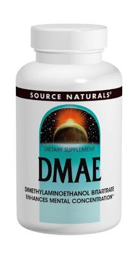 Source Naturals - DMAE 351 mg - 100 Comprimés