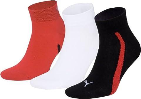 Puma Lifestyle - Chaussettes de Sport - Lot de 3