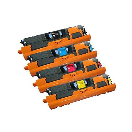 Kompatibel C9701a Cyan Laser (Kompatibel Mit HP C9700A C9701A Tonerkartusche Für HP Color Laserjet 1500L 2500 2500L 2500N 2500TN Laserdruckerkartusche,4Colors)