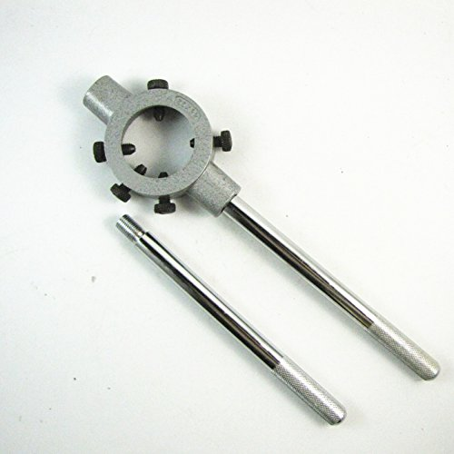 Métal 65mm réglable Diamètre Die poignée ronde Stock Titulaire