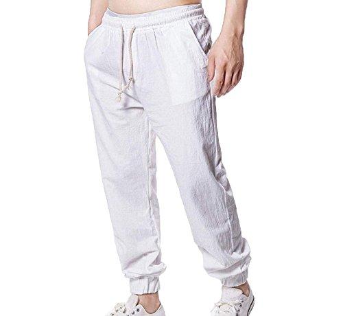 Männer Casual Leinen Jersey Lounge Shorts mit Gummizug in der Taille mit Cord Briefs Trunks Boxers Unterwäsche Multipack Brief Sloggi Über Dem Knöchel Cotton Walking Hose M-5XL