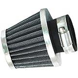 Filtre à air droit cornet - Ø raccord 37mm