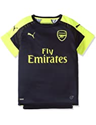 Puma Enfant Arsenal Football Club de Football pour Homme réplique 16–17 Bleu Peacoat/Soft Yellow