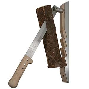 Enclume Rouge#1301-G Outil Répartiteur pour fendre du petit bois pour cheminée Compatible avec soft et bois dur