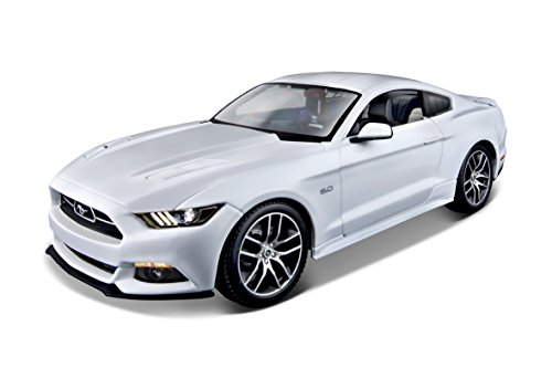 maisto-m38133-118-scale-exclusive-edition-50th-anniversary-2015-ford-mustang-gt-beautifully-detailed