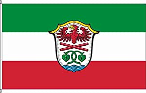 Hochformatflagge Landkreis Miesbach - 80 x 200cm - Flagge und Fahne