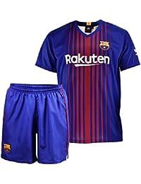 Conjunto - Kit 1ª Equipación Replica Oficial FC BARCELONA 2017-2018 Dorsal  MESSI - Tallaje 99037d366e5
