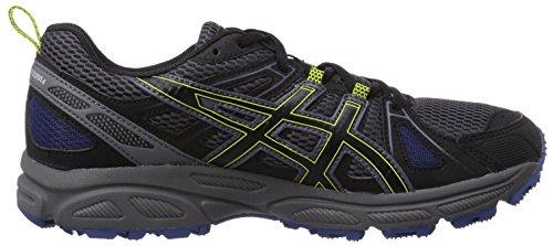 Asics Gel-Trail-Tambora 4, Chaussures de trail homme Noir (7990-Charcoal/Black/Lime)
