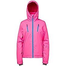 Protest Katy - Chaqueta de esquí para mujer, mujer, color Super Pink, tamaño medium