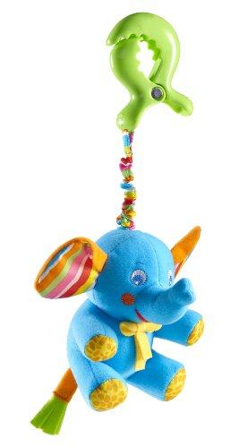 Tiny Love Tiny Smiles Rattle - Eli Elephant - Coloris aléatoire