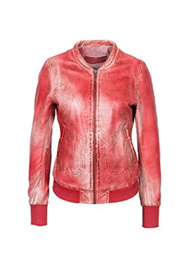 Michaelax-Fashion-Trade - Blouson - Uni - Manches Longues - Femme Red (4001)