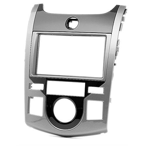 carav 11–396 Doppel DIN Autoradio Radioblende DVD Dash Installation Kit für Kia Cerato KOUP (TD), KOUP (TD) 2009–2012 Faszie mit 173 * 98 mm und 178 * 102 mm