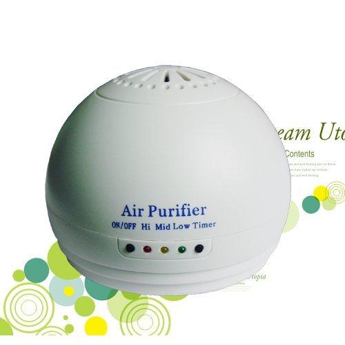 Auto Luftbefeuchter , Anding Mini Luftreiniger Haus, Auto-Lufterfrischer und Reisen, Luftionisator Ozon-Erfrischungs entfernen Rauch, Staub, Pollen und schlechte