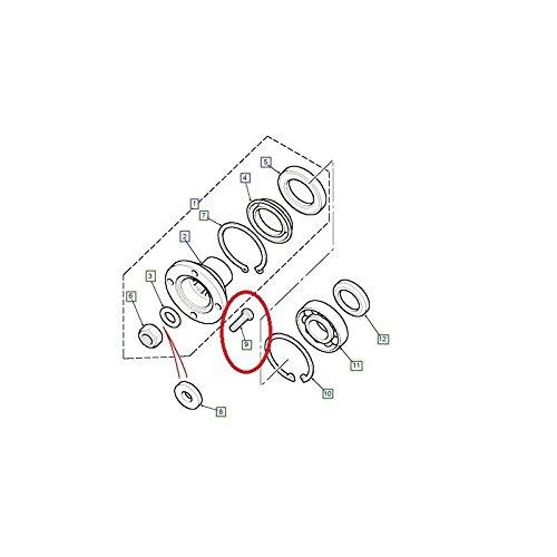 VIS DE Fix ATION Arbre DE Transmission Avant Cote Boite DE Transfert pour Land Rover - BT606106