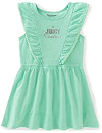 Juicy Couture Girls' Patterned and Solid Scuba Dress