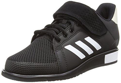 adidas Herren Power Perfect 3 BB6363 Multisport Indoor Schuhe, Schwarz (Black), 44 2/3 EU