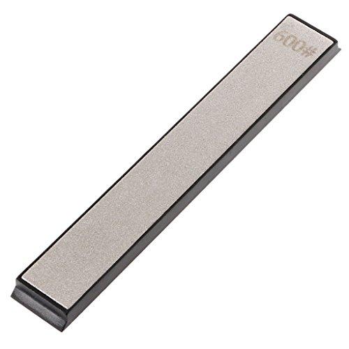 BIlinl Pierre à aiguiser à affûtage de Pierre à aiguiser affûteuse de Couteau de Diamant 600 Apex Edge