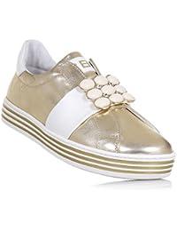 CIAO BIMBI - Sandale argent en cuir brillant, soignée dans tous ses détails, fille, filles-24