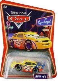 Disney / Pixar Cars Diecast Toy - RPM #64 Supercharged Edition by Mattel