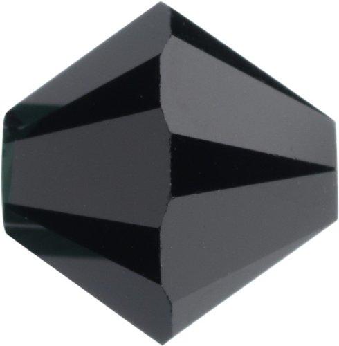 Original Swarovski Elements Beads 5328 MM 4,0 - Olivine (228) ; Diameter in mm: 4.0 ; Packing Unit: 1440 pcs. Jet (280)