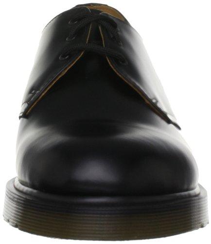 Dr Martens 1461 Pw Greasy, Chaussures à lacets mixte adulte Noir