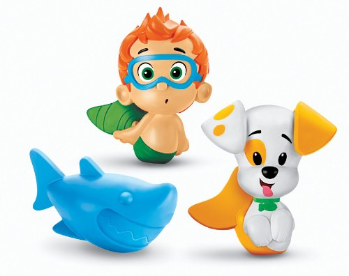 fisher-price-nickelodeons-bubble-guppies-bath-squirters-nonny-bubble-puppy-and-shark