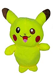 A-Mart soft toy pokemon pikachu yellow small 8 inch